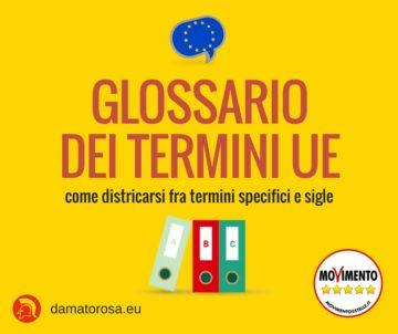 Glossario dei termini UE