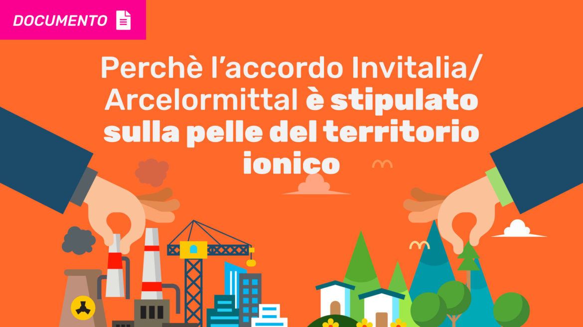 Documento D'Amato Accordo Invitalia Arcelormittal